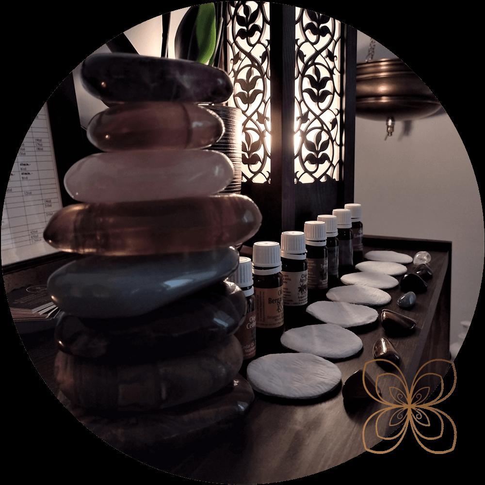 masaż-kamieniami